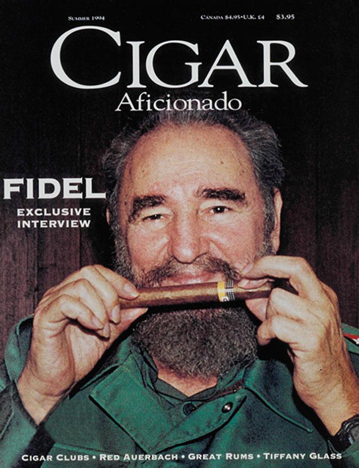 Ron Norris Ford >> Cigar Aficionado's 25th Anniversary Cover Challenge